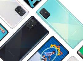 Samsung анонсировала Galaxy A71— большой имощный камерофон