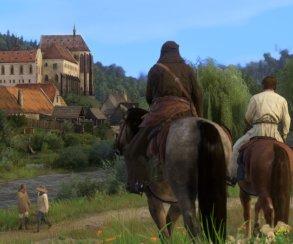 Фото: сравнение локаций Kingdom Come с реальными местами, которые сохранились со Средних веков