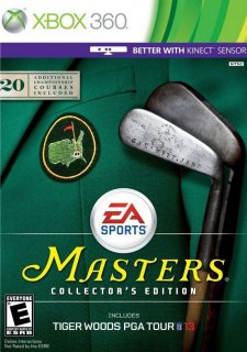 Tiger Woods PGA Tour 13: Masters Collector's Edition