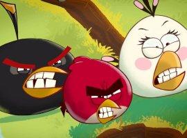 Первая серия Angry birds Toons