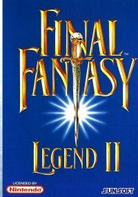 Final Fantasy Legend II – фото обложки игры