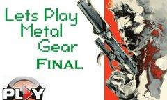 Lets Play Metal Gear. Финал