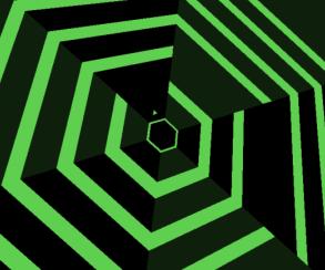 Super Hexagon перевели на Commodore 64