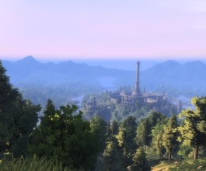 Новые восхитительные скриншоты Skyblivion— мода, который переносит мир Oblivion вSkyrim