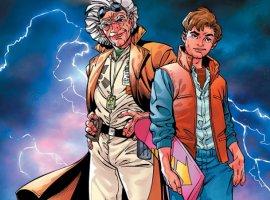 Комикс «Назад вбудущее»— что осталось закадром оригинальной трилогии икак еепродолжили?
