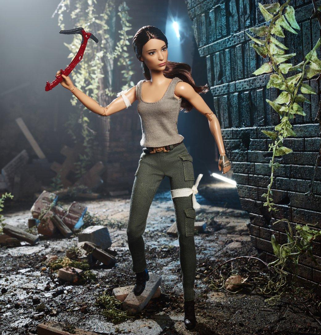 Расхитительница гробниц Лара Крофт стала новой куклой Barbie. - Изображение 1