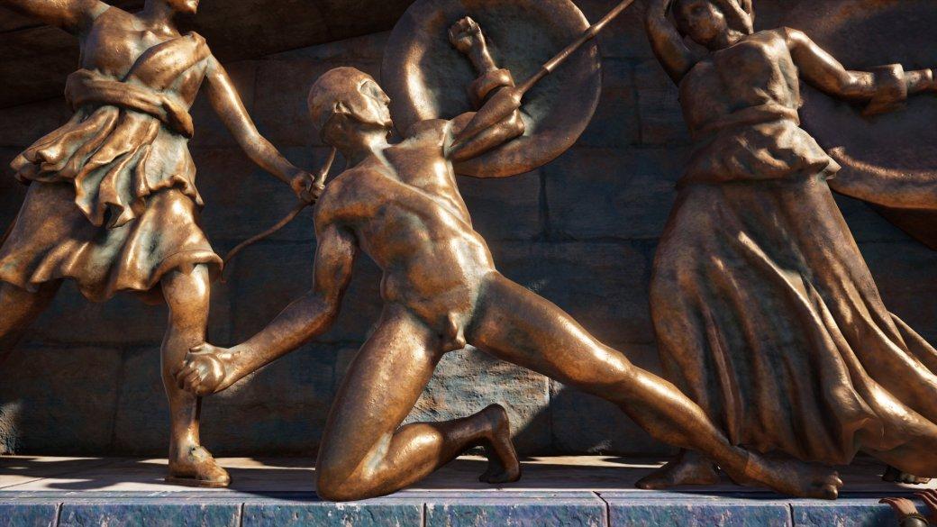 Журналист PCGamer составил топ пенисов изAssassin's Creed Odyssey— речь, конечно, остатуях | Канобу - Изображение 4