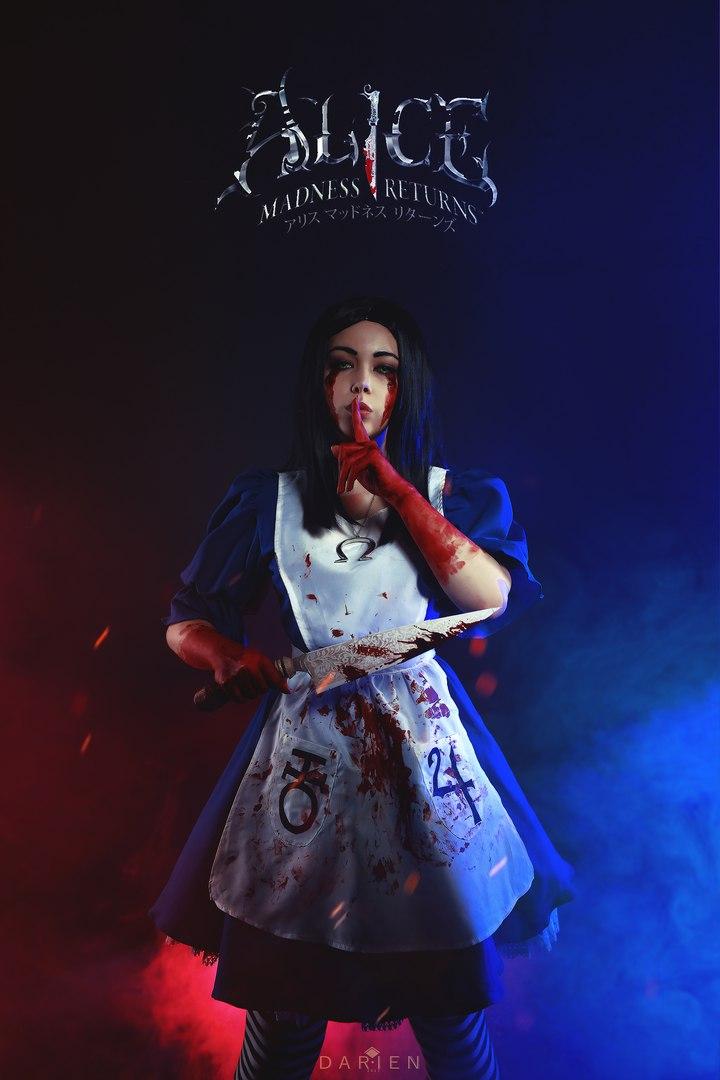 Косплей дня: Алиса Лидделл из игры Alice: Madness Returns. - Изображение 1