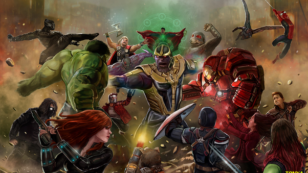 Посмотрите на иллюстрации героев «Войны Бесконечности» из артбука — у Паука мог быть другой костюм!    Канобу - Изображение 8814