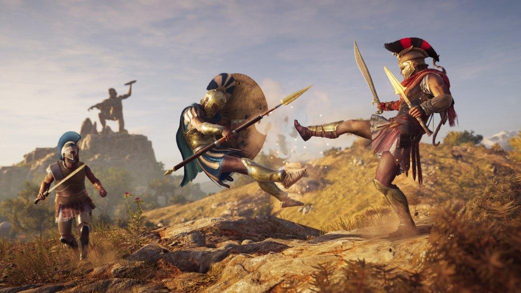 СМИ: новое дополнение для Assassin's Creed: Odyssey принесло вигру навязчивую рекламу   Канобу - Изображение 9729