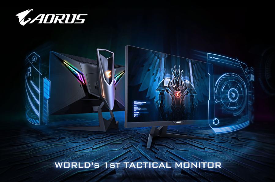 Gigabyte представила тактический геймерский монитор Aorus AD27QD   Канобу - Изображение 1