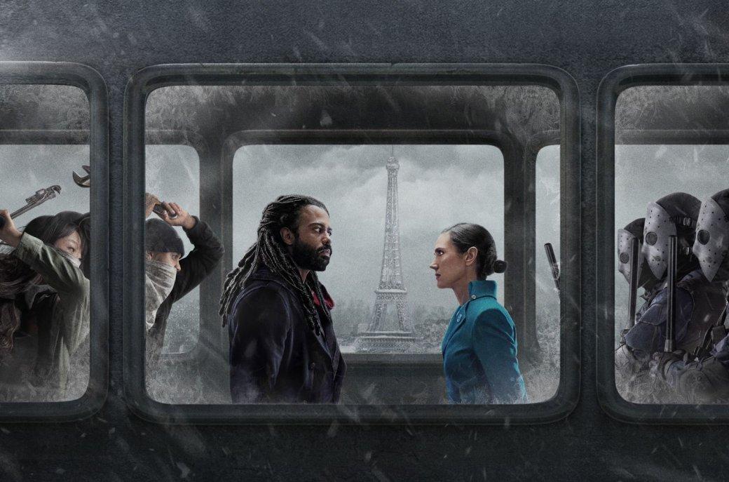 17мая наканале TNT вышла первая серия адаптации французского графического романа «Сквозь снег» (Snowpiercer). Иона, неожиданно, сфокусирована совсем ненареволюции.