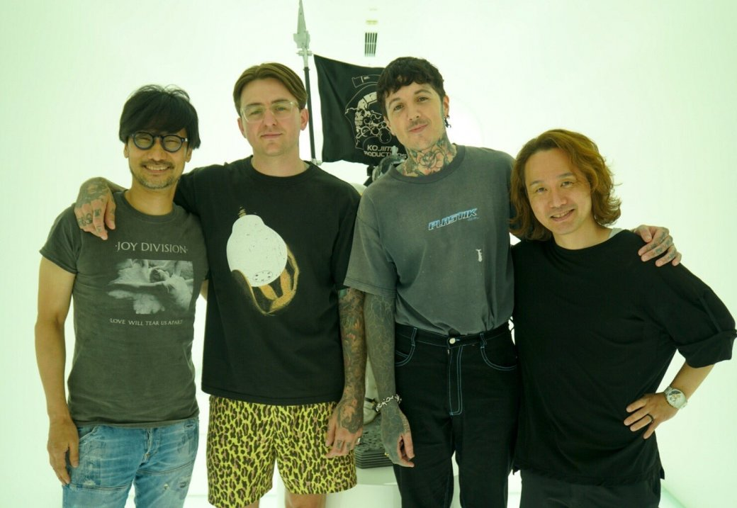 Bring Me The Horizon зазвучит в Death Stranding? Британская рок-группа в гостях у Хидео Кодзимы!  | Канобу - Изображение 2