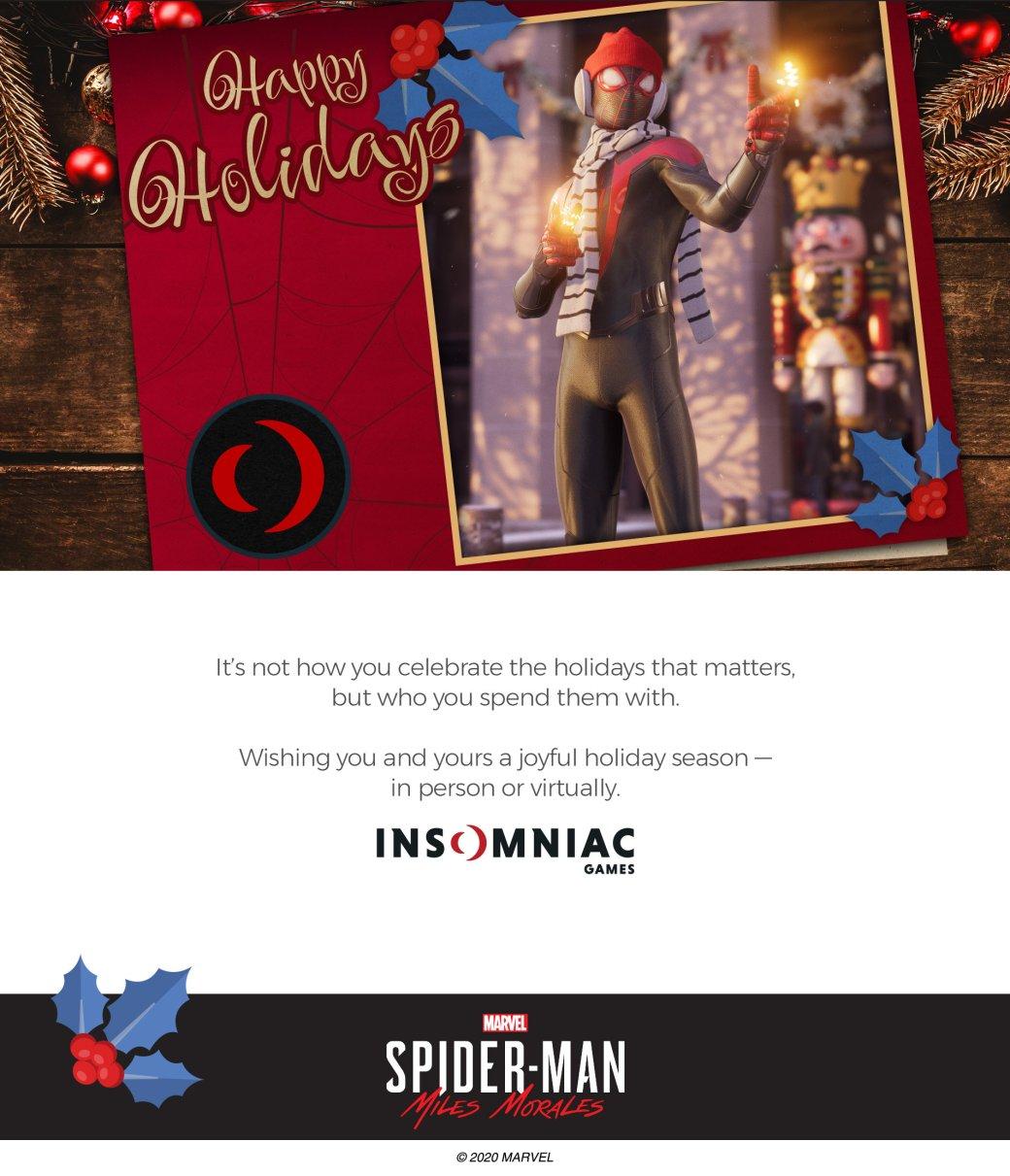 Издатели иразработчики поздравляют игроков сНовым годом иРождеством. Подборка открыток | Канобу - Изображение 6932