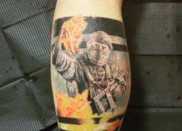 Иронично. Zeus набил татуировку скоктейлем Молотова изCS:GO