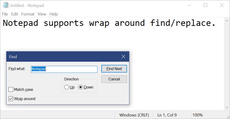 Microsoft впервые за долгое время обновила «Блокнот» в Windows 10, и теперь там можно менять масштаб   Канобу - Изображение 9292