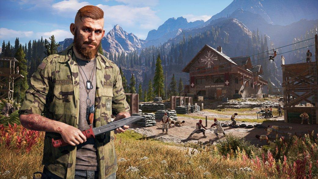 Природа и мир Far Cry 5 в гифках | Канобу
