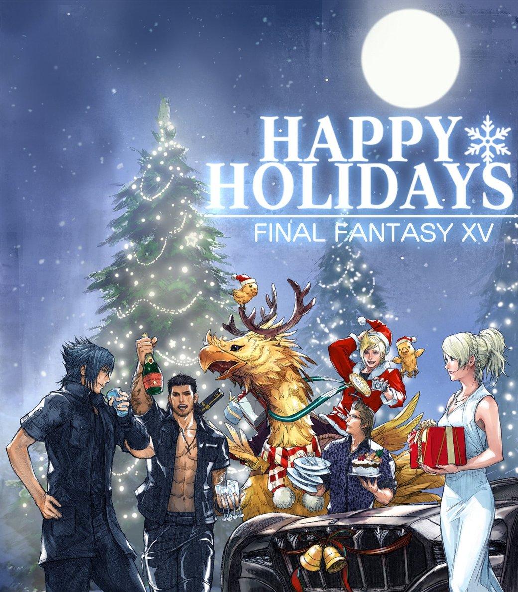С праздниками! Разработчики поздравляют с Новым годом и Рождеством | Канобу - Изображение 7
