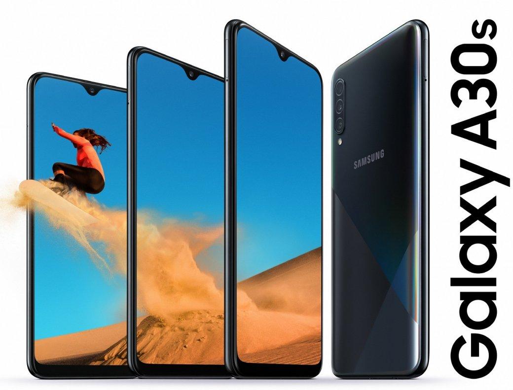 ВРоссии начались продажи хитового камерофона Samsung Galaxy A30s