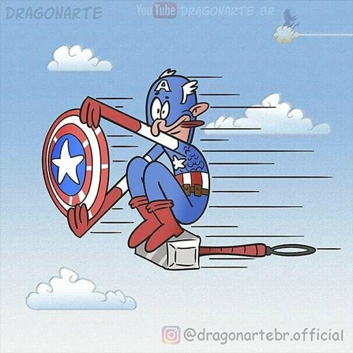 Чем занимаются супергерои, когда наних никто несмотрит? Ответы иззабавных комиксов