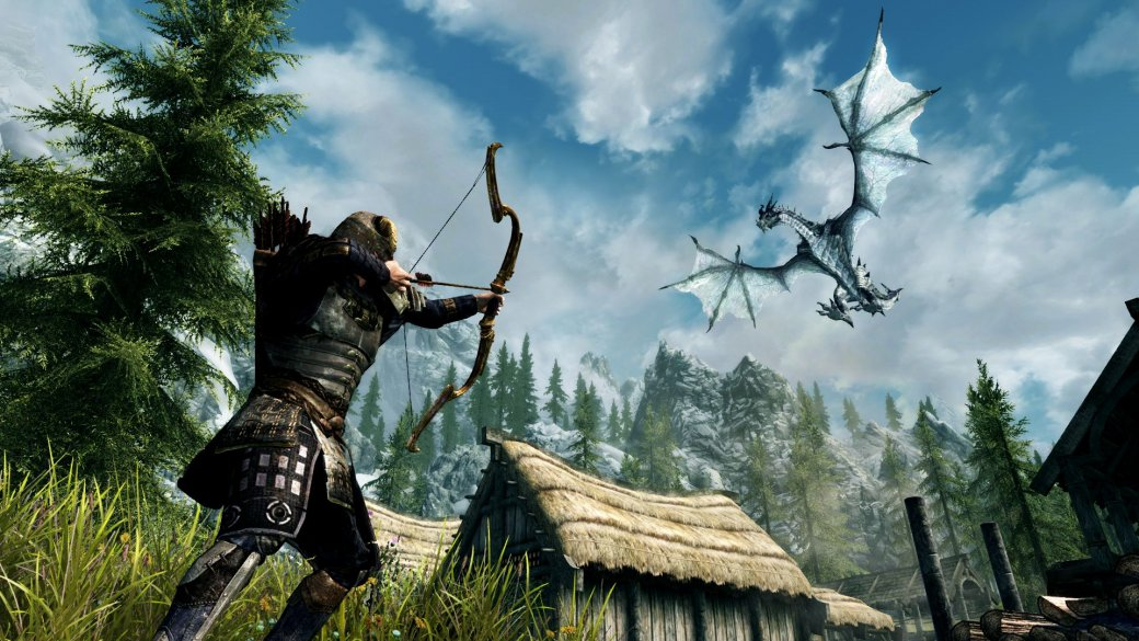 Гифка дня: мастерство остановки времени вThe Elder Scrolls 5: Skyrim   Канобу - Изображение 6090