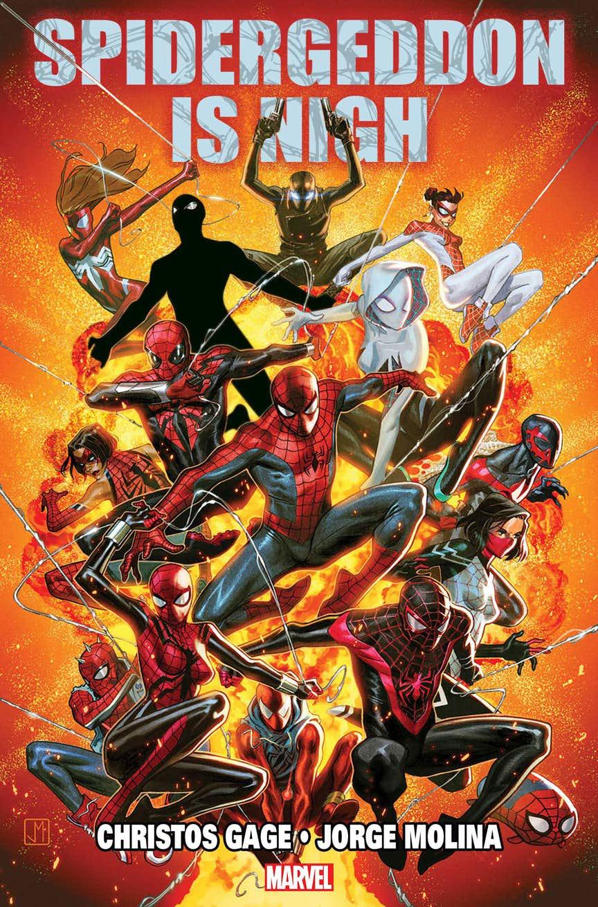 Комиксы Marvel ждет Спайдер-геддон! Новый кроссовер Людей-пауков изразных вселенных. - Изображение 1