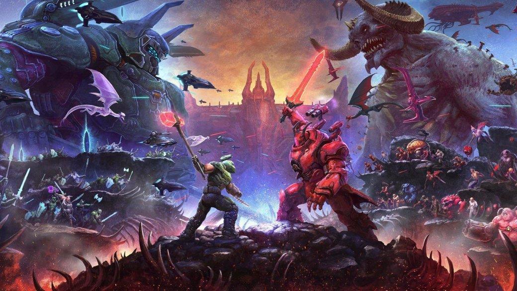 Дата тизера, утечка скриншотов и достижений: что известно про второе дополнение для Doom Eternal