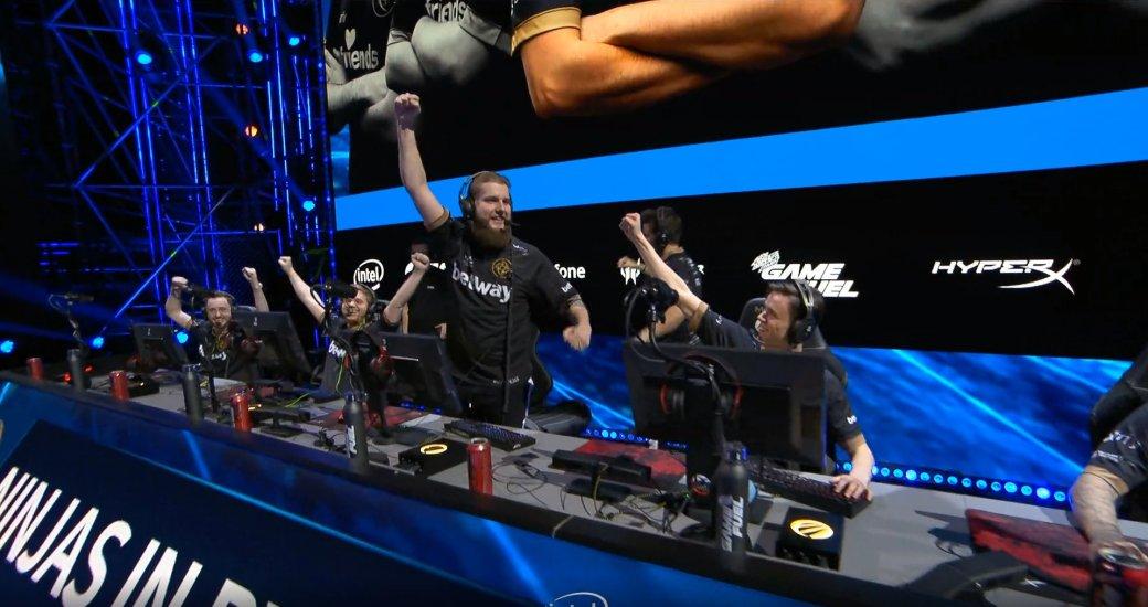 NiP выиграла один раунд уAstralis на«мейджоре» поCS:GO. Они радовались этому как дети