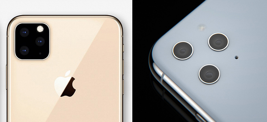 That's better: a new version of the triple camera iPhone XI has appeared | Kanobu - Image 2