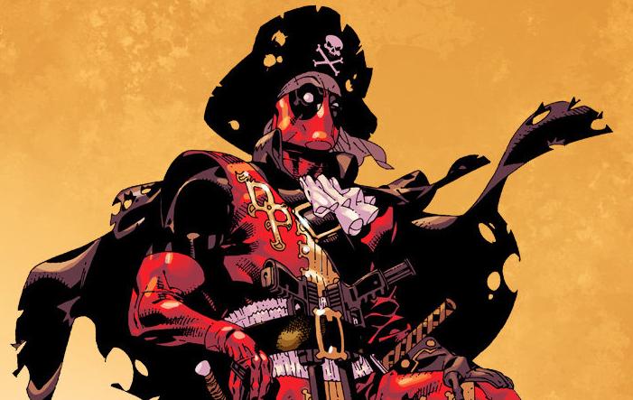 Галерея. Супергерои Marvel иDCввиде пиратов: Бэтмен, Дэдпул, Существо идругие. - Изображение 1