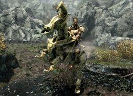 Фанатский аддон для TES V: Skyrim добавил вигру новое подземелье имеханическую лошадь