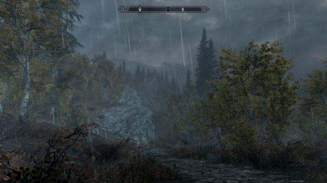 Ничего не видно! Энтузиаст сделал в Skyrim невероятно реалистичный ливень | Канобу - Изображение 2536