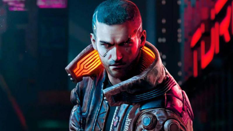 Авторы Cyberpunk 2077 поделились стильным артом с главным героем игры | Канобу - Изображение 5603