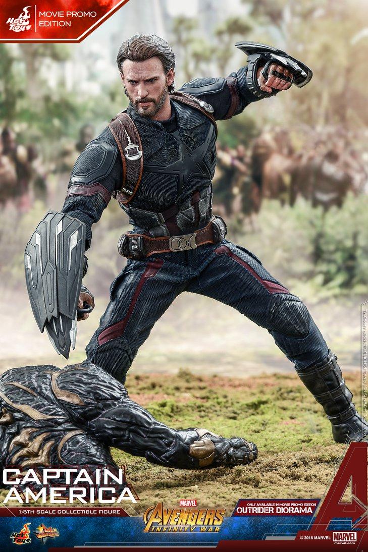 Взгляните нановую фигурку Капитана Америка из«Войны Бесконечности» отHot Toys. - Изображение 6