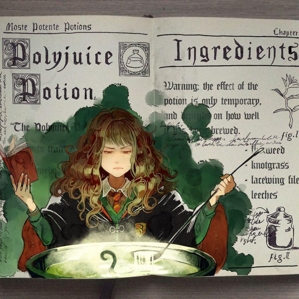 Художник нарисовал очень красивые иллюстрации по книгам о Гарри Поттере | Канобу - Изображение 4466