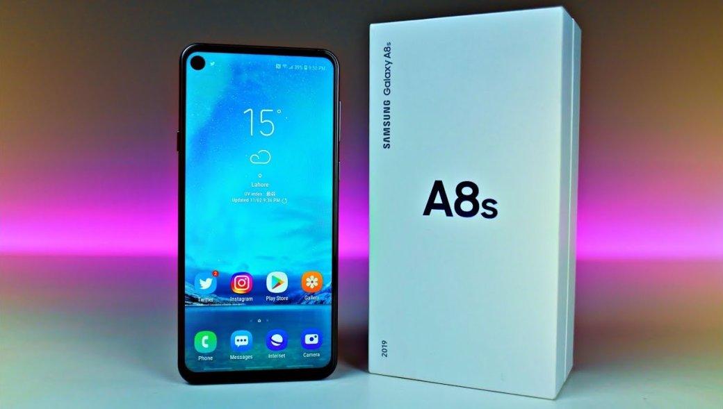 Samsung Galaxy A8s получил обновление доAndroid9 Pie | Канобу - Изображение 1754