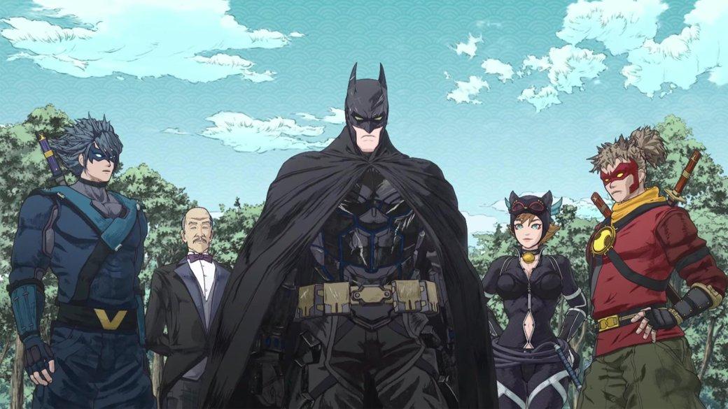 Рецензия нааниме Batman Ninja. Лучшее анимационное произведение осупергероях | Канобу - Изображение 5