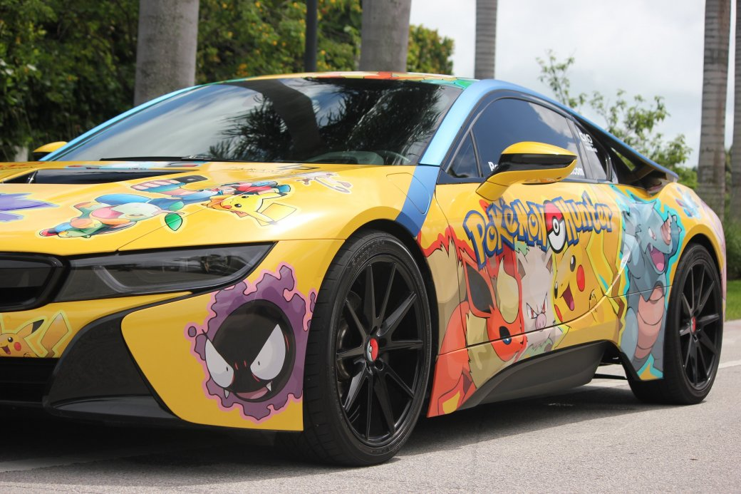 Шикарный спорткар BMW i8 превратили вмашину покемастера | Канобу - Изображение 0