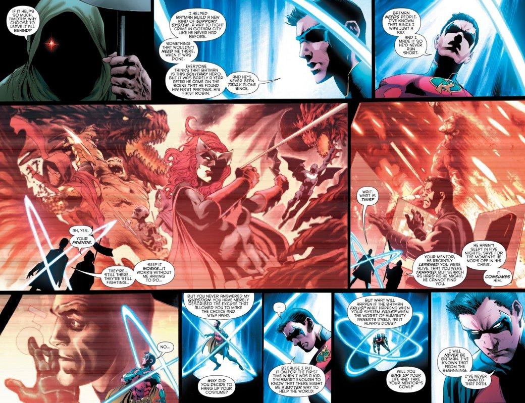 Бэтмен будущего, данетот: как два Тима Дрейка встретились настраницах комикса DC   Канобу - Изображение 5046