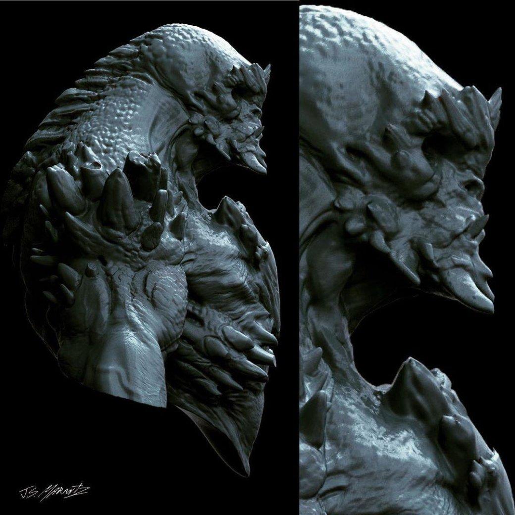 Художник показал ранний концепт Думсдэя для «Бэтмен против Супермена». Выглядит по-комиксному   Канобу - Изображение 4557