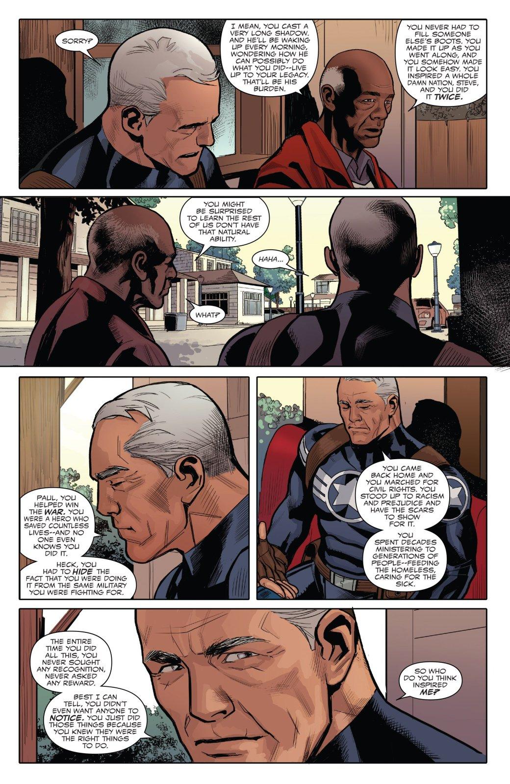 Marvel Generations: отправившись впрошлое, Сэм Уилсон прожил там целую жизнь | Канобу - Изображение 5751