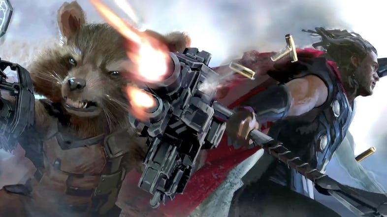 Секира вместо молота. Похоже, Тор в «Войне бесконечности» вооружится Ярнбьорном. - Изображение 2