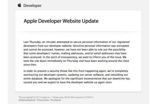 Сайт разработчиков Apple был взломан | Канобу - Изображение 5493