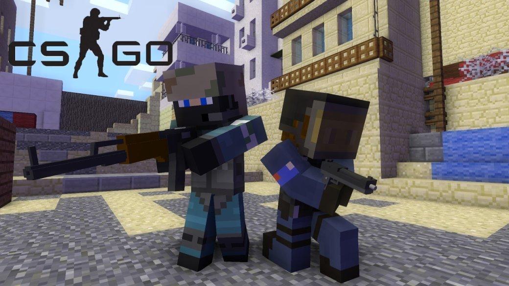 Игроки воссоздали карты из CS:GO с помощью лего и Minecraft | Канобу - Изображение 1