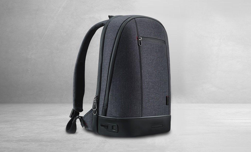 Смарт-рюкзак Agazzi получил сканер отпечатков пальцев, внутреннюю и внешнюю подсветку  | Канобу - Изображение 9862