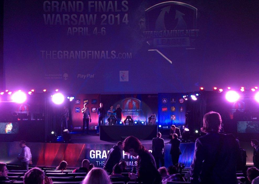 Wargaming League Grand Finals в Варшаве. Первые впечатления   Канобу