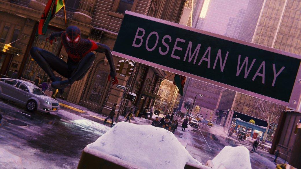 В Spider-Man: Miles Morales нашли улицу, посвященную Чедвику Боузману   Канобу - Изображение 976