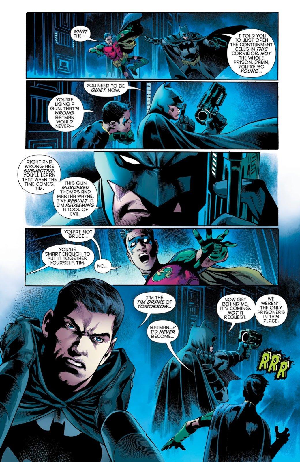 Бэтмен будущего, данетот: как два Тима Дрейка встретились настраницах комикса DC. - Изображение 7