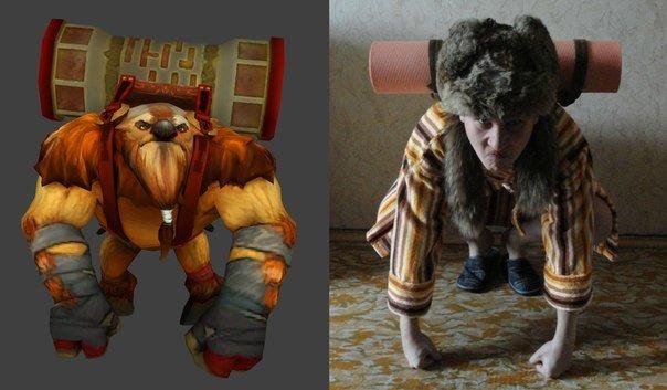 Самые смешные фанатские костюмы по игре DotA 2   Канобу - Изображение 1