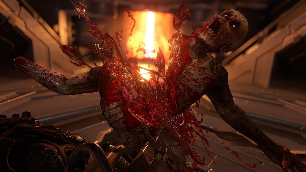«ИгроМир 2019». Doom Eternal— сверхскоростной шутер, вкоторый низачто нельзя играть нагеймпаде | Канобу - Изображение 4